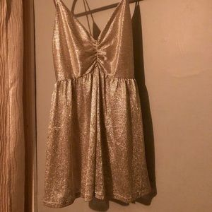 Urban Outfitters Sparkle Shimmer Romper